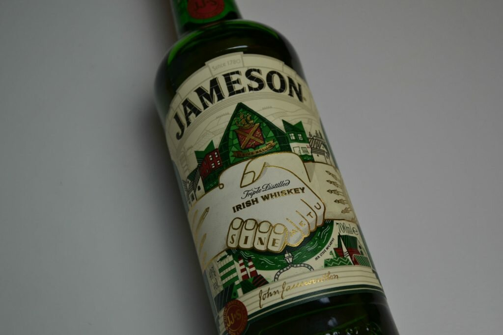 Jameson release connected bottles of whiskey
