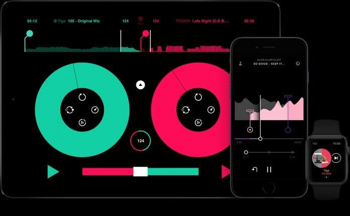 the pacemaker DJ app
