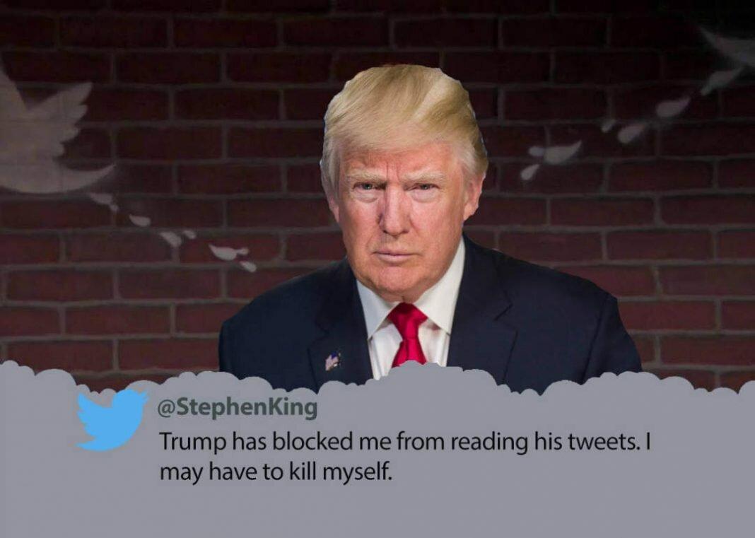Trump is blocking celebs on Twitter