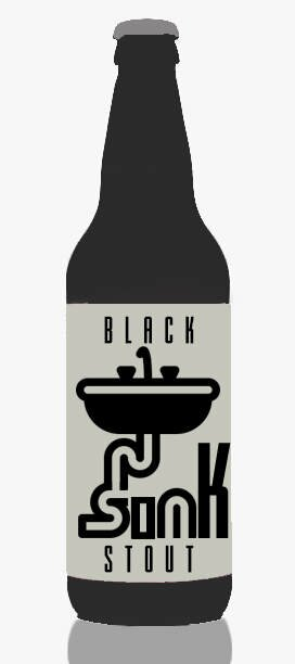 black sink stout craft beers AI generated beer name with neural networks