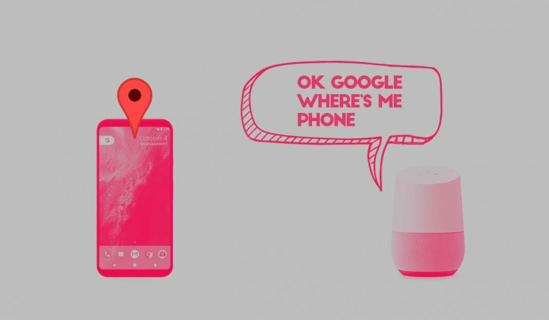 find my phone google home