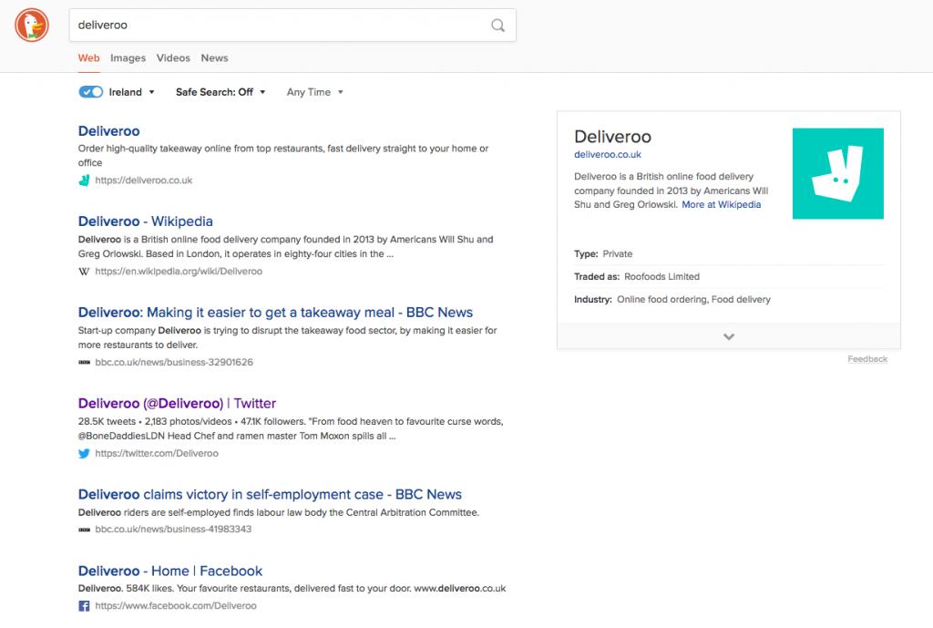 search example duckduckgo